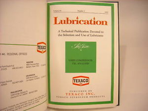 1977,78,79 Hardcover Periodicals- Lubrication