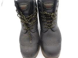 Dr Martens Men's Calamus Safety Toe 7 Eye Boot Black Mesh US sz 14 - $60.78