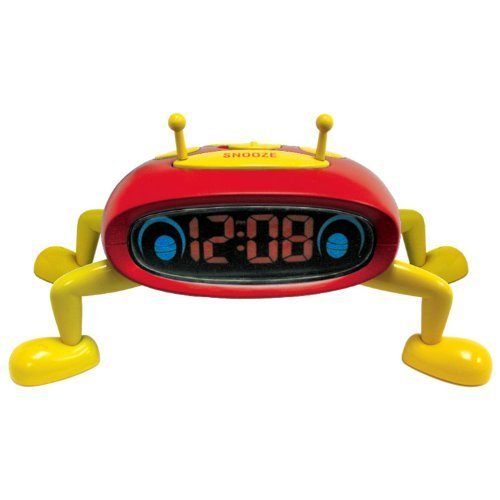 Advance 0.6-Inch LED Interactive Slumberbug Alarm Clock