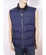 Calvin Klein Men's Navy Blue Down Puffer Full Zip Vest XL - $55.99