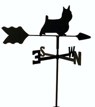 SILKY TERRIER GARDEN WEATHERVANE WROUGHT IRON L... - $25.99