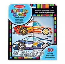 Melissa & Doug Stained Glass Made Easy Race Car Ornaments Craft Kit  - $21.34