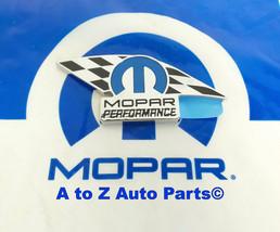 New Dodge,Ram,Chrysler,Jeep Mopar Performance Flag Stick On Emblem Badge,Oem - $26.95