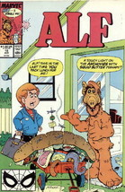 Alf TV Series Comic Book #18 Marvel Comics 1989 FINE+ - $1.75