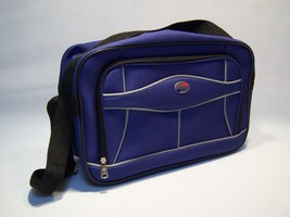 Vintage American Tourister Full Zip Messenger Shoulder Bag - $98.99