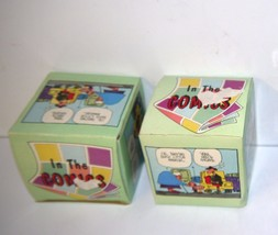 """Set of 2 Collectible Papel Ceramic Coffee Mugs Comic Strip """"The Buckets""""... - $17.82"""