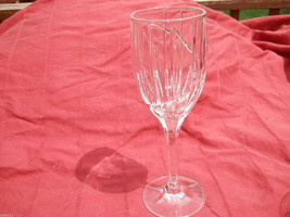 "MIKASA CRYSTAL UPTOWN 8 1/8"" WINE GOBLET - $10.84"