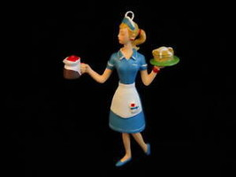 New waitress Figure Christmas Tree Ornament Department 56