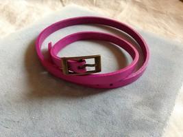 Kids Gleeful Peacock Pink Belt Headband, 25 inches
