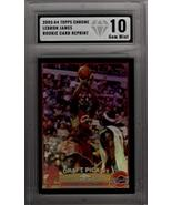 2003-04 Topps Chrome #111 Rookie RC Lebron James REPRINT - Black Border ... - $19.75