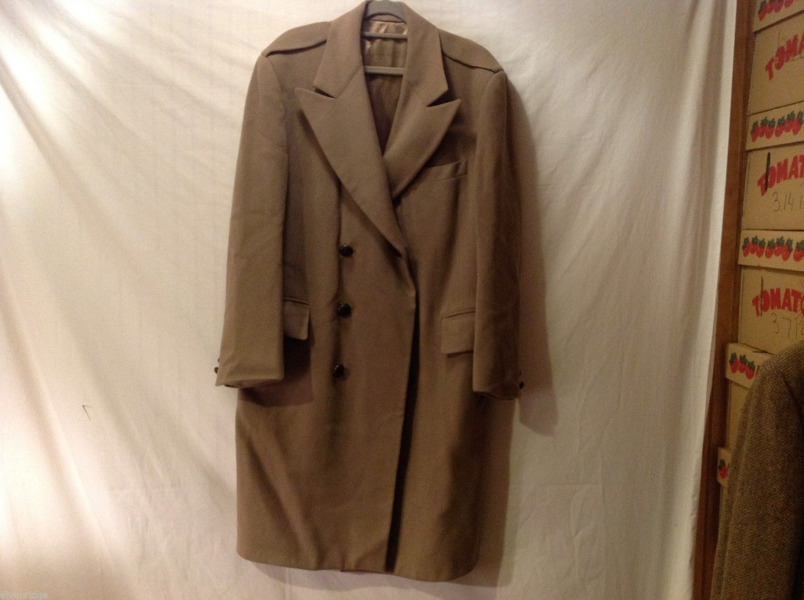 Saint Laurie Women's Light Brown Winter Coat, Size Unknown, See Measurements