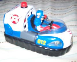 Super Hero Squad - Captain America Freedom Flyer Rescue Hovercraft- Jada... - $19.75