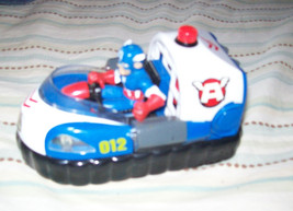 Super Hero Squad - Captain America Freedom Flyer Rescue Hovercraft- Jada Toys image 2