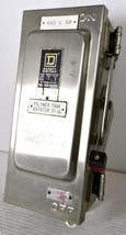 Square D Hu361 Ds Safety Disconnect Switch, 30 A 30 Amp, Ss Stainless Steel   Use - $1,349.91