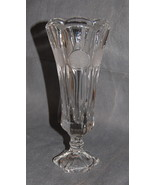 Fostoria Coin Glass Clear Tall Bud Vase - $20.00