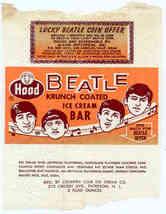 BEATLES ICE CREAM BAR WRAPPER 1960's - $19.98