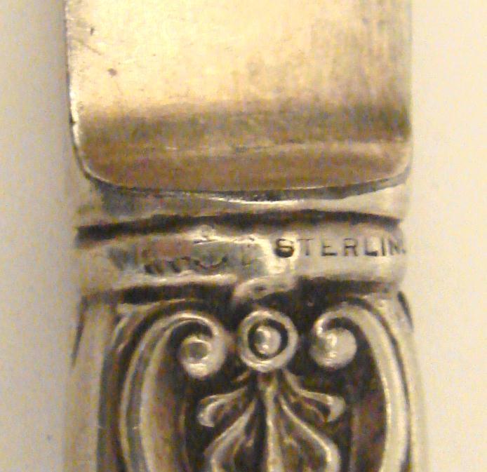 GORHAM STERLING HANDLE FRUIT KNIFE