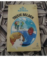 Trixie Belden #22 Mead's Mountain Golden Press PB HTF - $7.00