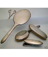 BEAUTIFUL 1930s Classic 5Pc. GORHAM STERLING Vanity Set - $370.00