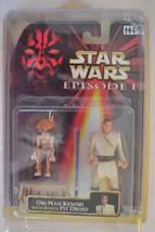 Obi-Wan Kenobi with Bonus Pit Droid-Star Wars Episode 1 - 1999, Asst#840... - $20.99