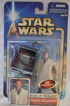 Anakin Skywalker-Attack of the Clones Star Wars-2002,Hasbro#84852/84851-NEW - $13.50