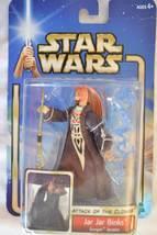 Jar Jar Binks-Gungan Senator-Star Wars Attack of the Clones-2002,Hasbro#... - $13.99