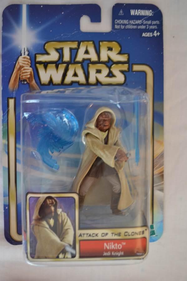 Nikto Jedi Knight-Star Wars Attack of the Clones-2002,Hasbro# 84823/84861-NEW