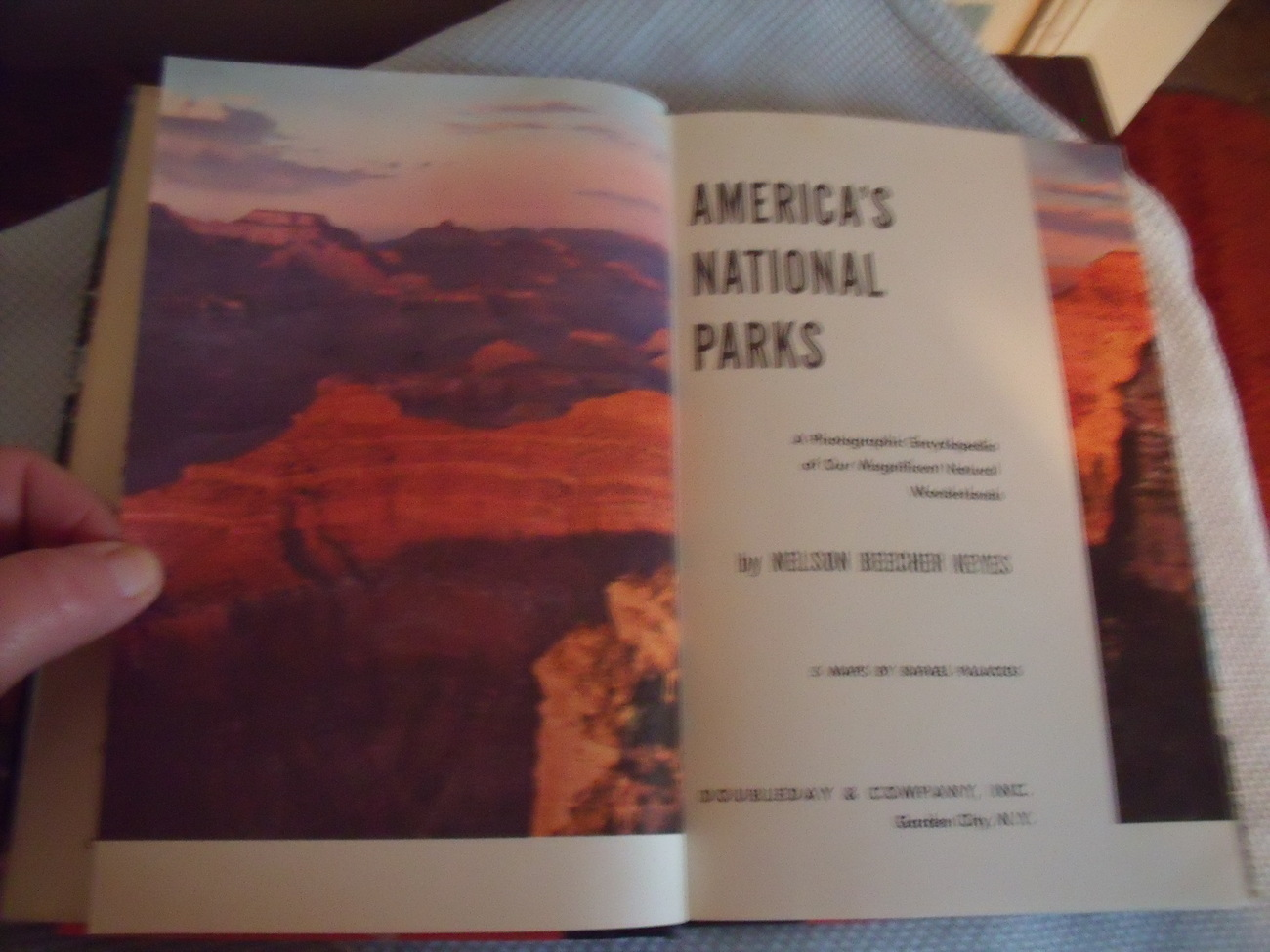 America's National Parks 1957 edition by Nelson Keyes