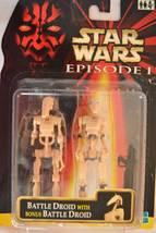 Battle Droid with Bonus Battle Droid-Star Wars I - 1999, Asst#84085-8409... - $15.99