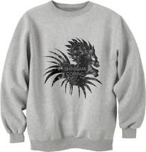 Shinigami is coming Ryuk death note Unisex Crewneck Sweatshirt LIGHT STEEL - $30.00+