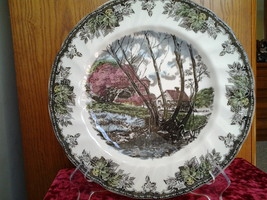 "Johnson Bros, Friendly Village, Wiilow by the Brook 10.5"" Dinner Plate - $6.99"
