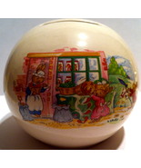 Round Money Ball Bank from Royal Doulton ~ Vegetable Store ~ Pre-Owned - $26.00