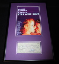 Sydney Pollack Signed Framed 12x18 Photo & Check Display Eyes Wide Shut - $112.19