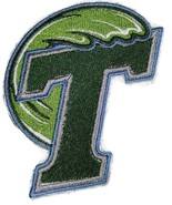 Tulane Green Wave logo Iron On Patch - $4.99