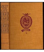 1935 WOLLER, Johan ZEST FOR LIFE Recollections of a Philosophic Traveler... - $38.99