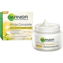 2 x Garnier White Complete Multi Action Fairness Cream - SPF 17 40 gms (Total... - $20.30