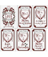 Book Of Love Potions 1 of 6 cross stitch chart Alessandra Adelaide Needl... - $27.90