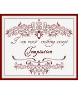 Temptations cross stitch chart Alessandra Adelaide Needleworks  - $16.20