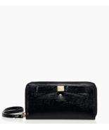 NWT KATE SPADE $148 Beacon Court Louie Leather Bow Phone Wristlet Wallet... - $88.00