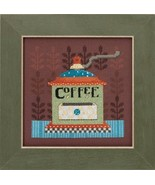 Coffee Grinder Kit 2016 Coffee & Friends cross stitch kit Debbie Mumm Mi... - $14.85