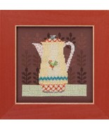 Coffee Server Kit 2016 Coffee & Friends cross stitch kit Debbie Mumm Mil... - $14.85