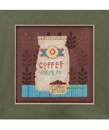 Coffee Grounds Kit 2016 Coffee & Friends cross stitch kit Debbie Mumm Mi... - $14.85