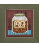 Coffee Beans Kit 2016 Coffee & Friends cross stitch kit Debbie Mumm Mill... - $14.85