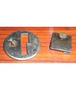 New Home Badged V. S. New Ideal Needle Plate w/Feed Dog & Screws - $12.50