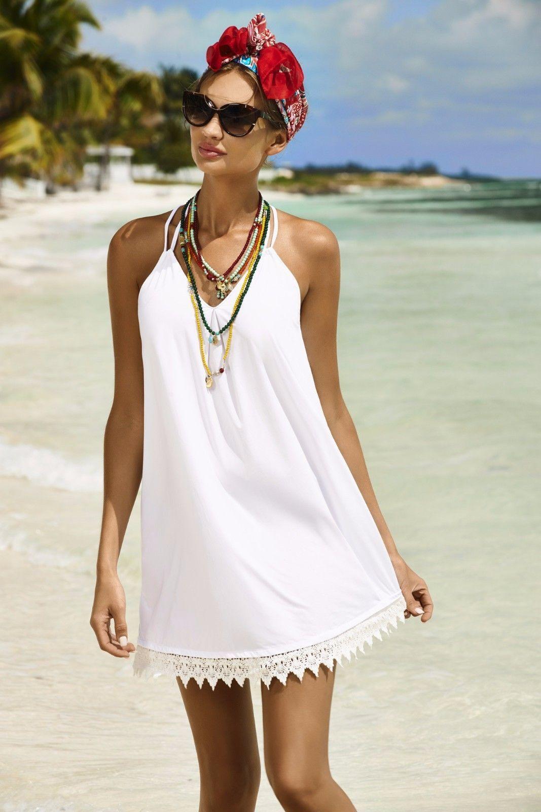 Модные платья для пляжа фото