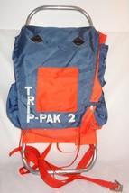 VNT Trip- Pak 2 External Frame Backpack Hiking Travel 8 Compartments Blu... - $1.496,26 MXN
