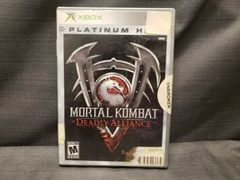 Mortal Kombat: Deadly Alliance Platinum Hits (Microsoft Xbox, 2003) Video Game - $8.37
