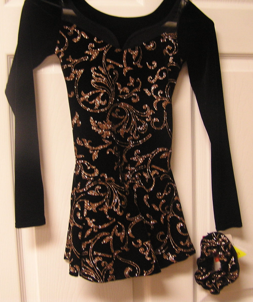 Mondor  Model 2978 Girls Skating Dress  - N2 Romance - Size 10-12 - $79.99