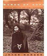 Joyce Hansen Women of Hope HCDJ 1stED Alice Walker + - $16.99