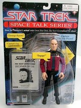 Star Trek Space Talk Captain JEAN-LUC Picard Works! - $13.99